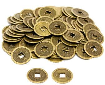 Китайские монетки фен-шуй