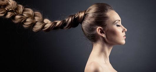 фото нарощенных волос челки